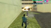 Hand Held M134 Minigun for GTA Vice City miniature 4
