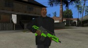 Green Special Carbine (GTA Online DLC) for GTA San Andreas miniature 1