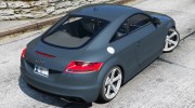 Audi TT RS 2013 v1 for GTA 5 miniature 3