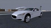 Maserati GranTurismo 2008 for GTA San Andreas miniature 2