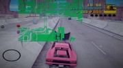 HQ Green Radar for GTA 3 miniature 4