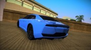 Lamborghini Estoque Concept 2012 for GTA Vice City miniature 2