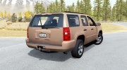 Chevrolet Tahoe for BeamNG.Drive miniature 3