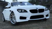 2013 BMW M6 Coupe for GTA 5 miniature 1