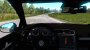 Volkswagen Golf R-Line for Euro Truck Simulator 2 miniature 3