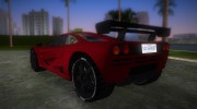 McLaren F1 LM for GTA Vice City miniature 4