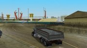 Peterbilt 359 Dumper for GTA Vice City miniature 12