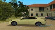 2013 Lexus GS 350 F Sport for GTA Vice City miniature 11