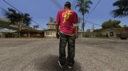 Hip Hop Free Fire Skin for GTA San Andreas miniature 3