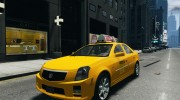 Cadillac CTS-V Taxi for GTA 4 miniature 1