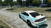 Dodge Charger NYPD 2012 for GTA 4 miniature 3