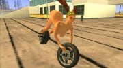 The Bike Girl for GTA San Andreas miniature 2