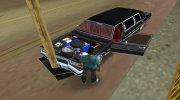 Cadillac Fleetwood Brougham 1985 Limousine for GTA Vice City miniature 12