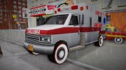 New Texture Ambulance 1962 for GTA 3 miniature 1