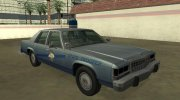 Ford LTD Crown Victoria 1987 Kentucky State Police for GTA San Andreas miniature 2