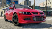 Mitsubishi Lancer EVO 8 MR Tunable for GTA 5 miniature 6