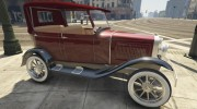 Ford T 1927 Tin Lizzie for GTA 5 miniature 9