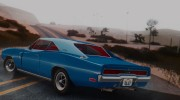 1970 Dodge Charger R/T 440 (XS29) для GTA San Andreas миниатюра 9