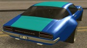 GTA V Imponte Nightshade for GTA San Andreas miniature 2