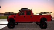 Ford F-350 2010 Lifted Sema Show for GTA San Andreas miniature 4