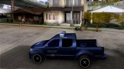 Toyota Hilux Somaliland Police для GTA San Andreas миниатюра 2