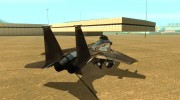 F-15 Eagle for GTA San Andreas miniature 3