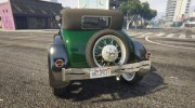 Ford T 1927 Roadster for GTA 5 miniature 10
