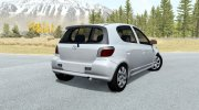 Toyota Vitz RS 5-door (P10) 2000 for BeamNG.Drive miniature 3