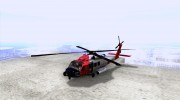 HH-60 Jayhawk USCG for GTA San Andreas miniature 1