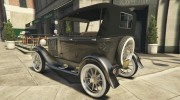 Ford T 1927 Tin Lizzie for GTA 5 miniature 6