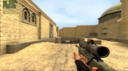 Desert Camo AWP для Counter-Strike Source миниатюра 3