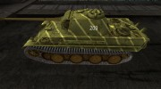 Шкурка для PzKpfw V Panther(Watermelon colour) для World Of Tanks миниатюра 2