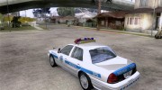 Ford Crown Victoria Arizona Police for GTA San Andreas miniature 3