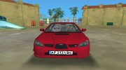 Subaru Impreza WRX STI 2006 для GTA Vice City миниатюра 12