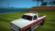 Chevrolet Silverado K-10 2500 1986 for GTA Vice City miniature 6