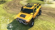 Hummer H2 SUT for Spintires DEMO 2013 miniature 1