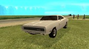 Dodge Charger 1969 for GTA San Andreas miniature 1