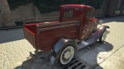 Ford A Pick-up 1930 for GTA 5 miniature 8