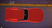Chevrolet Corvette (C3) Stingray T-Top 1969 for GTA Vice City miniature 6
