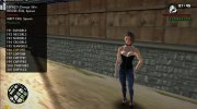 Jill Valentine Sexy Corset for GTA San Andreas miniature 10