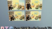 BTS  Family Portrait 2 Posters for Sims 4 miniature 5