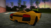 Lamborghini Murcielago LP640 Roadster for GTA Vice City miniature 3