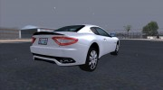 Maserati GranTurismo 2008 for GTA San Andreas miniature 7