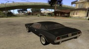 Plymouth Barracuda для GTA San Andreas миниатюра 3
