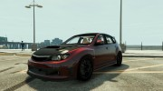 Subaru Impreza WRX STI 1.1 for GTA 5 miniature 1