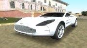 Aston Martin One 77 для GTA Vice City миниатюра 1