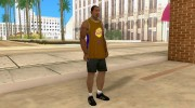 Форма БК Los Angeles Lakers for GTA San Andreas miniature 5