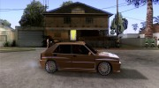 Lancia Delta Sparco for GTA San Andreas miniature 5