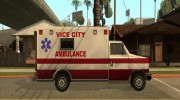 Ambulance from Vice City for GTA San Andreas miniature 2