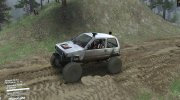ВАЗ 1111 «Ока Offroad» for Spintires 2014 miniature 2
